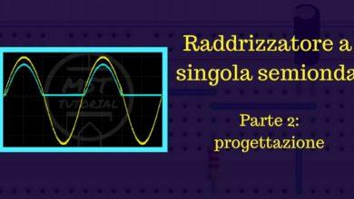 Photo of Raddrizzatore a singola semionda