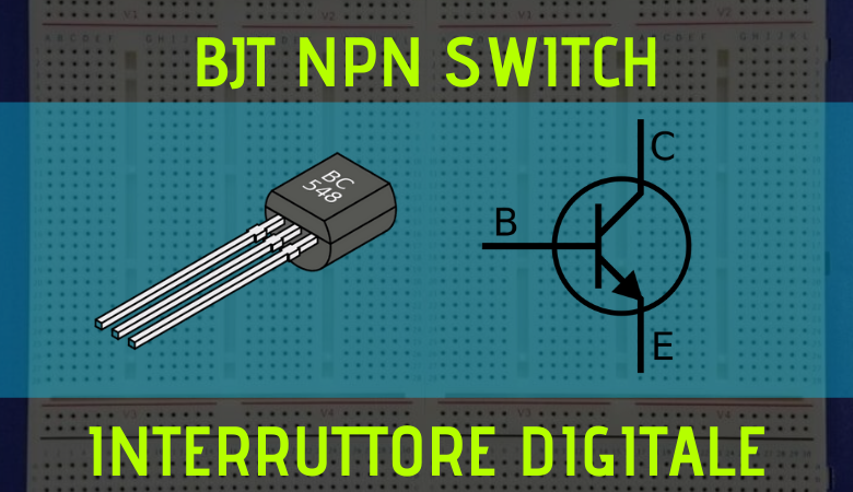 Photo of BJT NPN come switch