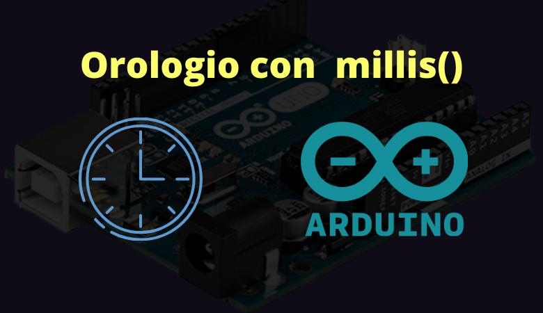 Photo of Semplice orologio con la funzione millis()